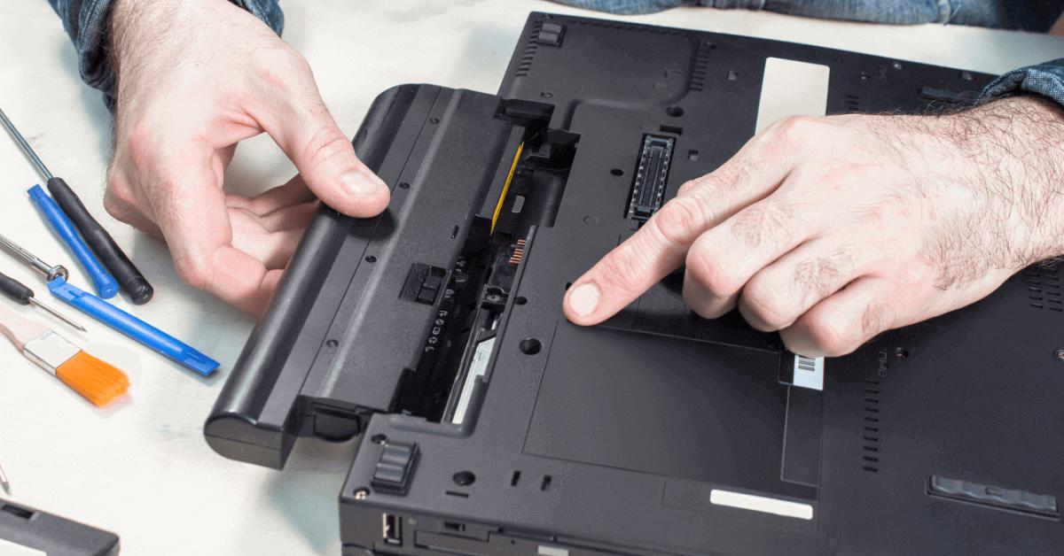 laptop charging port