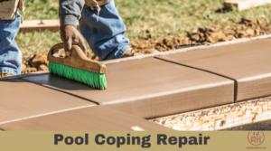 Pool Coping Repair