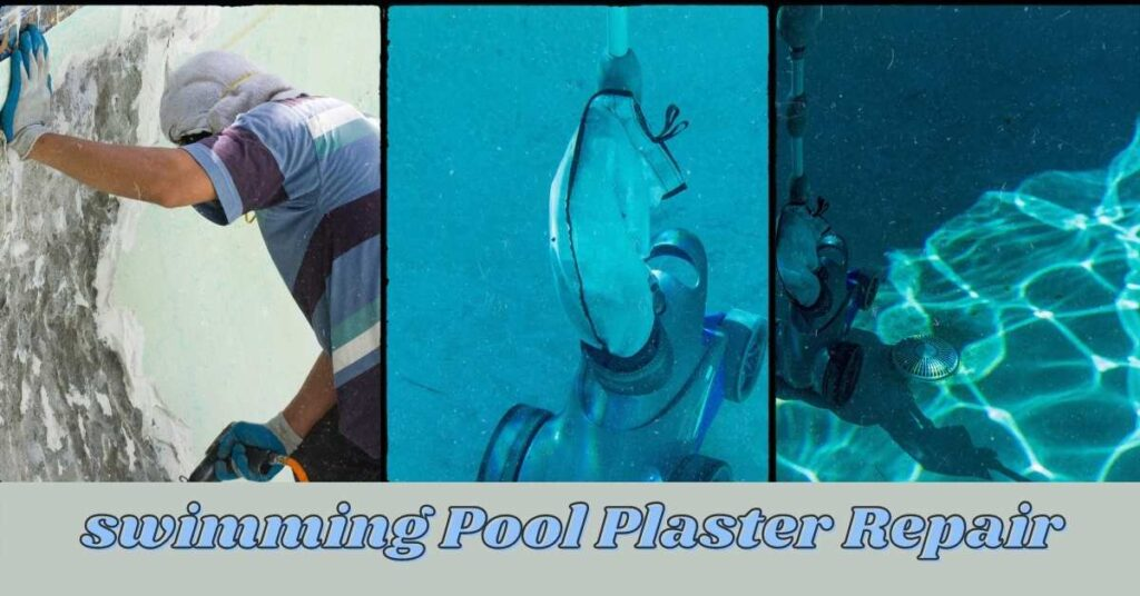 swimming Pool Plaster Repair Underwater